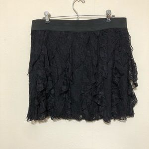 Maurice's Lace Mini Skirt Size Large